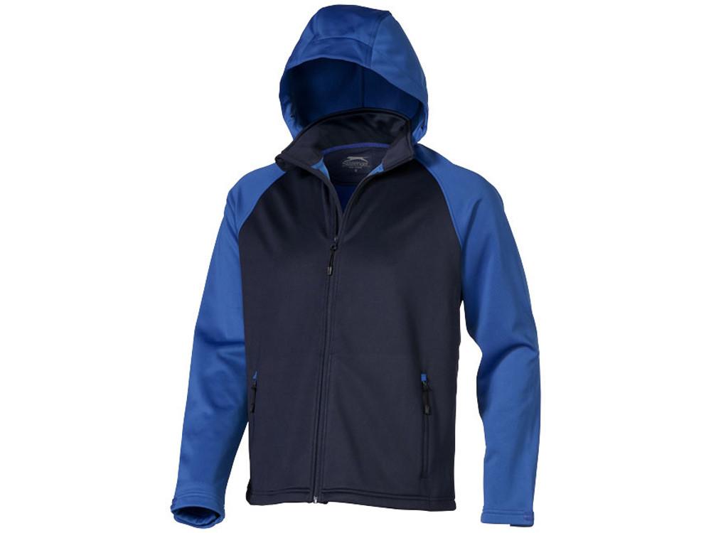 Куртка софтшел Сhallenger мужская, темно-синий/небесно-голубой