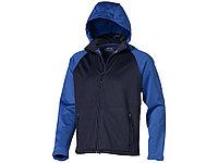 Куртка софтшел Сhallenger мужская, темно-синий/небесно-голубой, фото 1