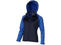 Куртка софтшел Сhallenger женская, темно-синий/небесно-голубой, фото 1