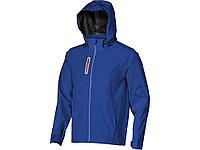 Куртка софтшел Howson мужская, синий, фото 1