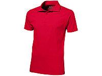 Рубашка поло Let мужская, красный, фото 1