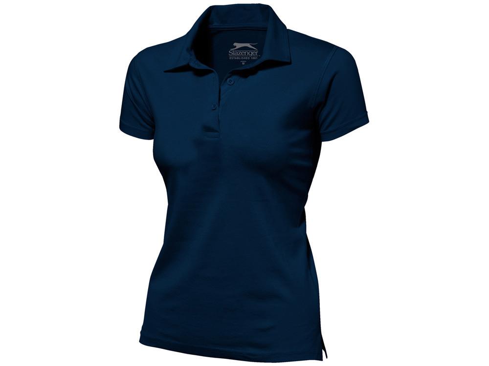 Рубашка поло Let женская, темно-синий