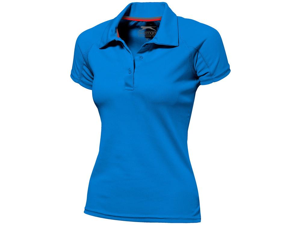 Рубашка поло Game женская, небесно-голубой