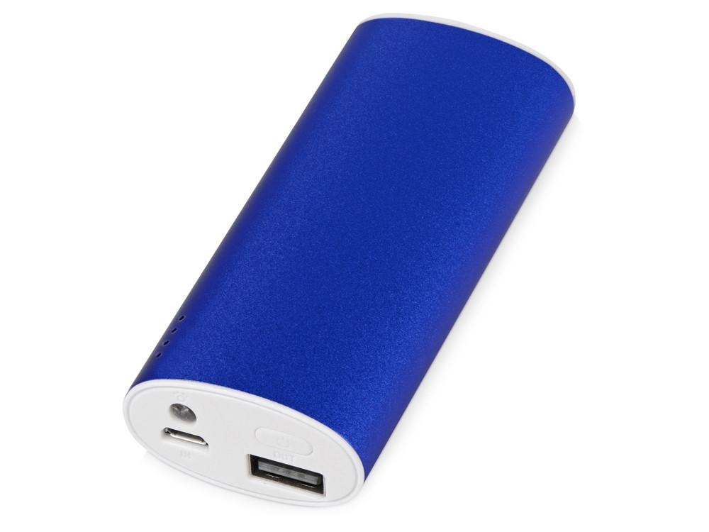 Портативное зарядное устройство Квазар, 4400 mAh, синий (артикул 392532)