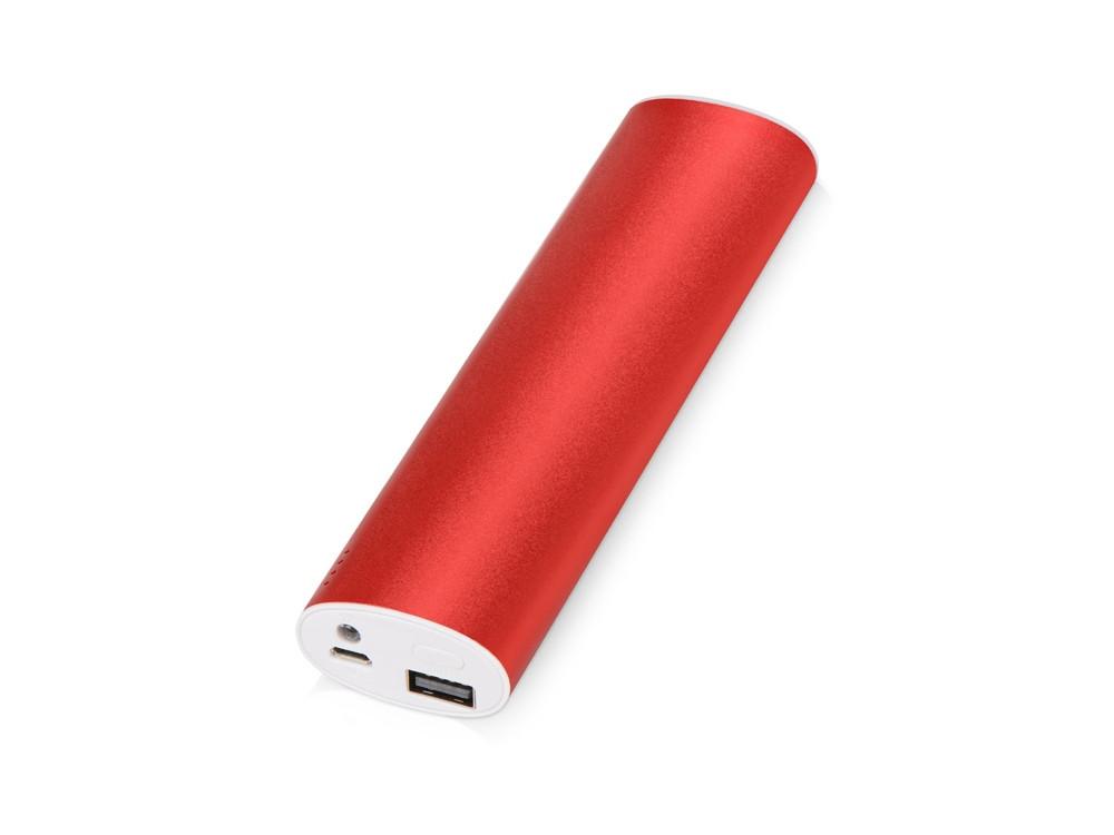 Портативное зарядное устройство Спайк, 8000 mAh, красный (артикул 392471)