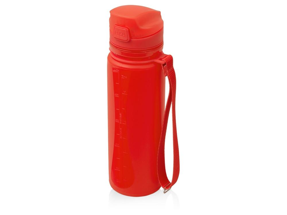 Складная бутылка Твист 500мл, красный (артикул 840001)