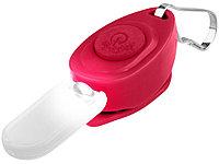 Брелок-фонарик для молнии, красный, фото 1