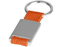 Брелок Alvaro, серебристый/оранжевый, фото 1