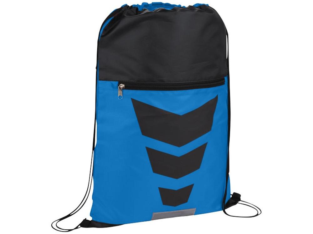 Рюкзак на шнурке Courtside, синий/черный