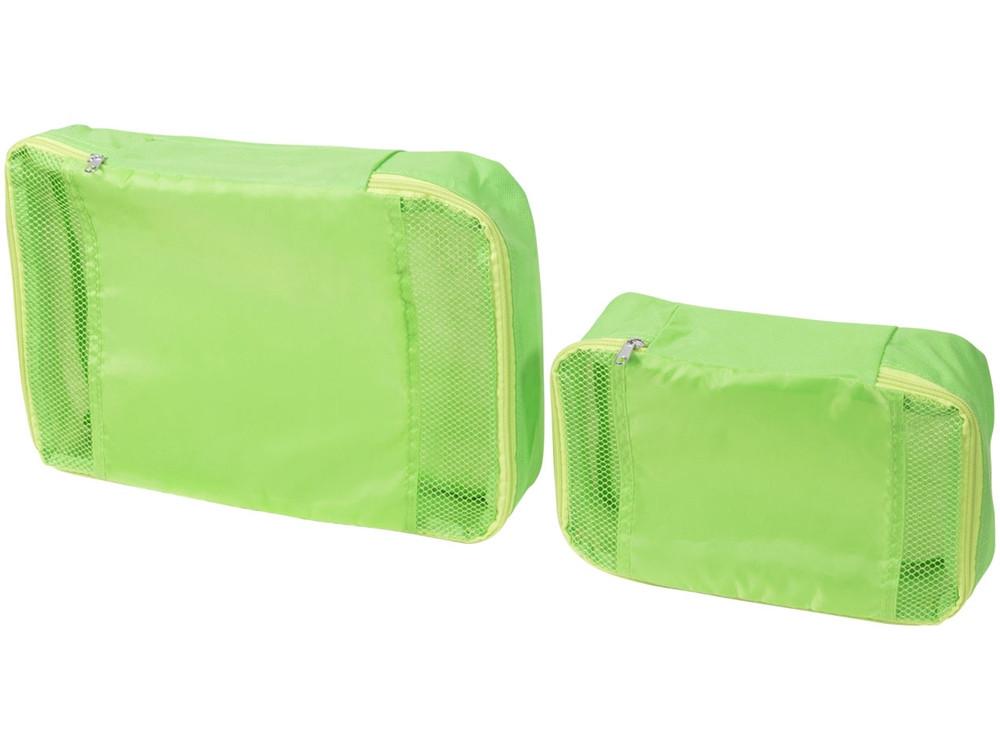 Упаковочные сумки - набор из 2, лайм