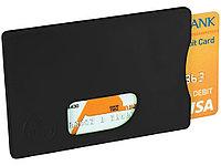 Защитный RFID чехол для кредитной каты, черный, фото 1