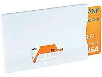 Защитный RFID чехол для кредитной каты, белый, фото 1