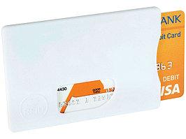 Защитный RFID чехол для кредитной карты, белый (артикул 13422601)