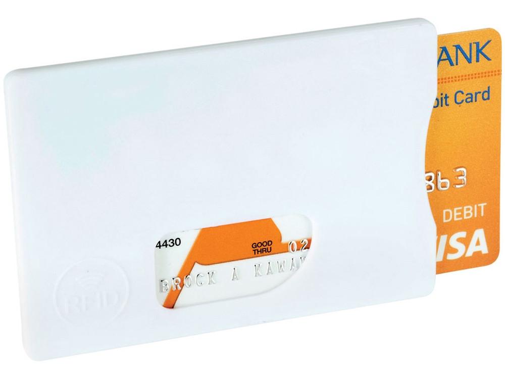 Защитный RFID чехол для кредитной каты, белый