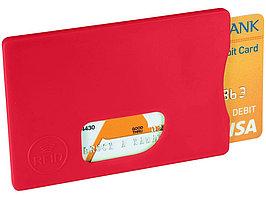 Защитный RFID чехол для кредитной карты, красный (артикул 13422603)