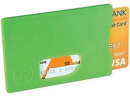 Защитный RFID чехол для кредитной карты, лайм (артикул 13422604)