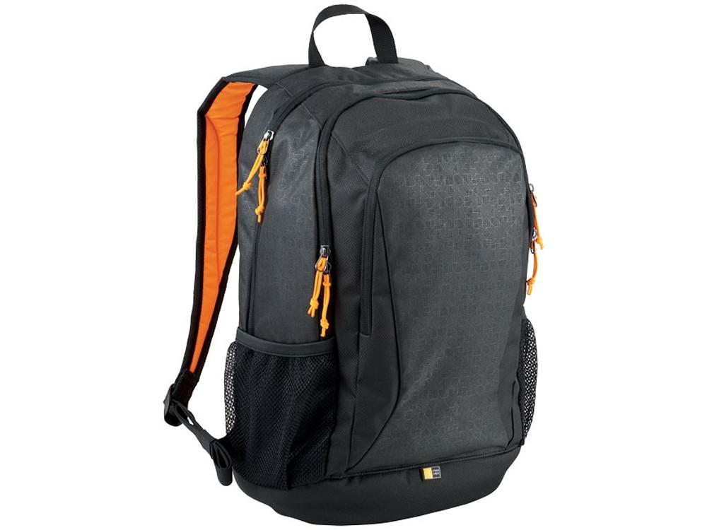 Рюкзак Ibira для ноутбуков с диагональю до 15,6, черный/оранжевый