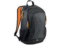 Рюкзак Ibira для ноутбуков с диагональю до 15,6, черный/оранжевый, фото 1