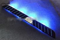 Подножки с LED подсведкой на Evoque