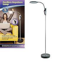 Лампа-торшер с гибкой ножкой 16 LED Cordless Anywhere Lamp, фото 3