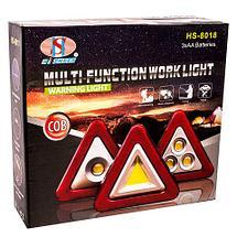 Фонарь-знак аварийной остановки COB MULTI-FUNCTIONAL WORK LIGHT HS-8017, фото 2