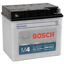 Мотоциклетный аккумулятор (25Ah 12V) Bosch M4 F52 для воздушной (малогаб.самолет) водной и наземной техники