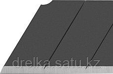"""Лезвие OLFA """"BLACK MAX"""" сегментированное, 5шт, 25х126х0,7мм , фото 2"""