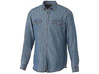 Рубашка Sloan с длинными рукавами мужская, джинс, фото 1