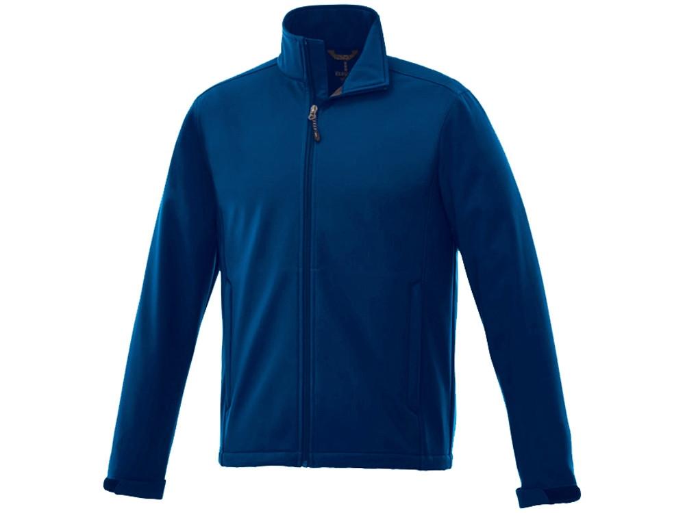 Куртка софтшел Maxson мужская, темно-синий