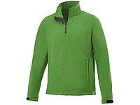 Куртка софтшел Maxson мужская, папоротник зеленый, фото 1