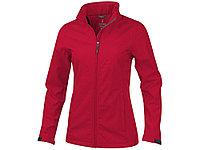 Куртка софтшел Maxson женская, красный, фото 1