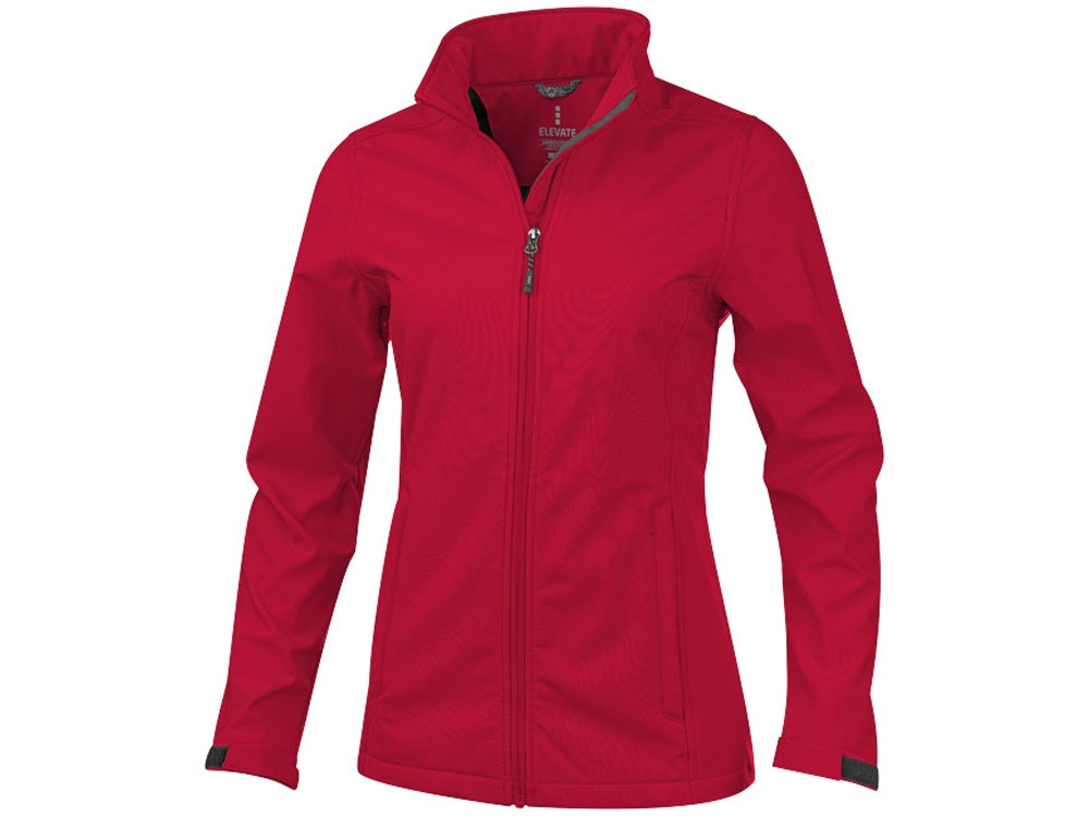 Куртка софтшел Maxson женская, красный
