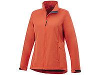 Куртка софтшел Maxson женская, оранжевый, фото 1