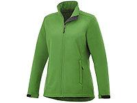 Куртка софтшел Maxson женская, папоротник зеленый, фото 1