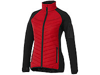 Женская утепленная куртка Banff, красный/черный, фото 1
