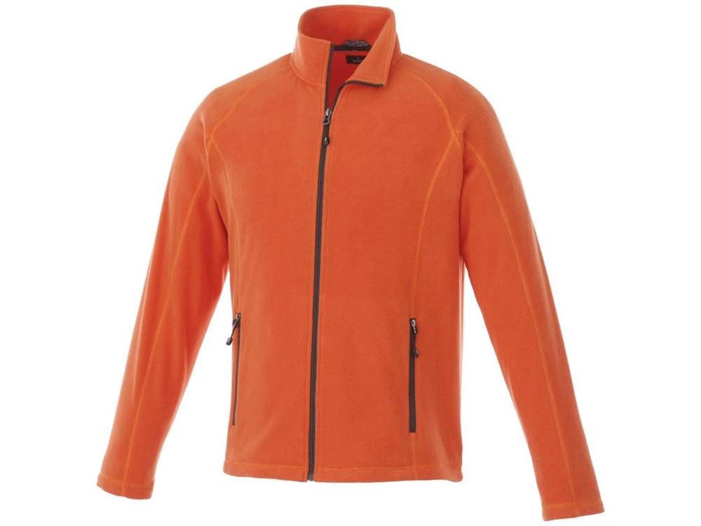 Джемпер из полифлиса Rixford мужской, оранжевый