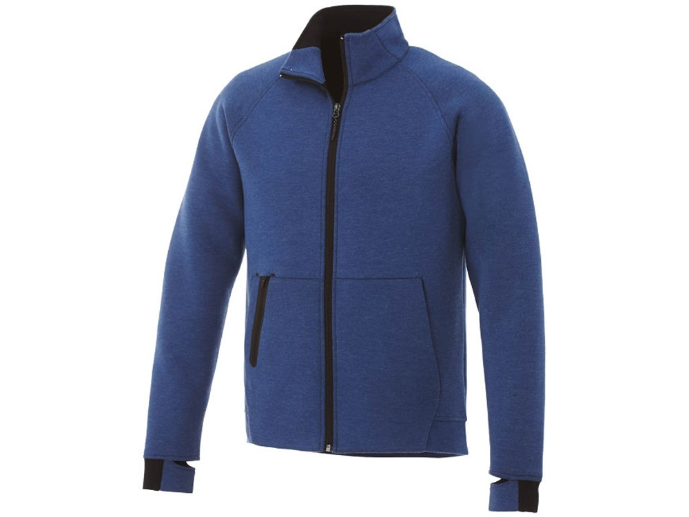 Куртка трикотажная Kariba мужская, ярко-синий