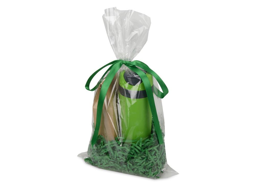 Подарочный набор Tea Cup Plus с чаем, зеленый