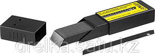 Лезвия OLFA сегментированные BLACK MAX, 9х80х0,38мм, 13 сегментов, 50шт, фото 2