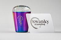 Штамп силиконовый Swanky Stamping с блестками, 3,5 см., без дна