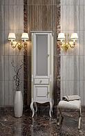 Пенал Лаура OPADIRIS , цвет белый с патиной, правый Z0000006524, фото 1