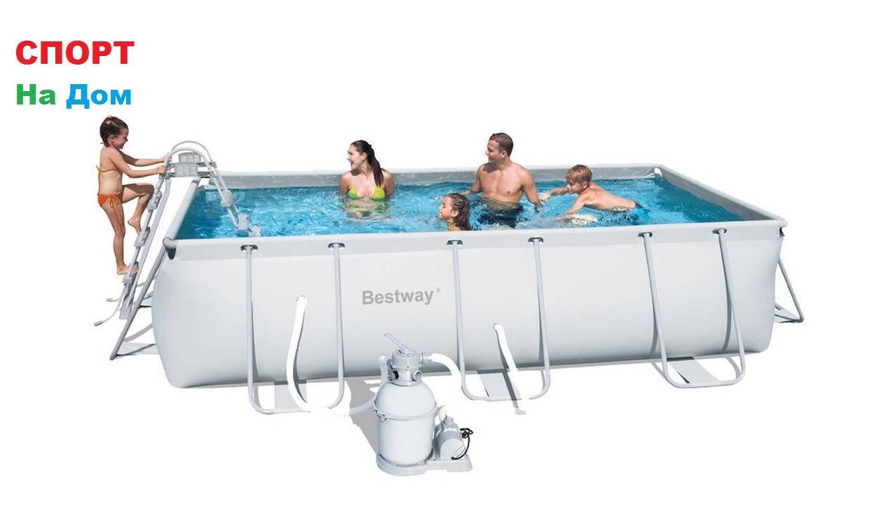 Каркасный бассейн Bestwey 56442 (404 х 201 х 100 см, на 6478 литра )