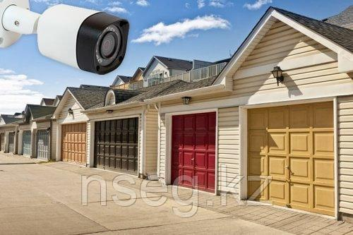 Установка камер видеонаблюдения в гараже
