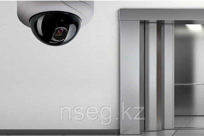 Установка камер видеонаблюдения в лифте