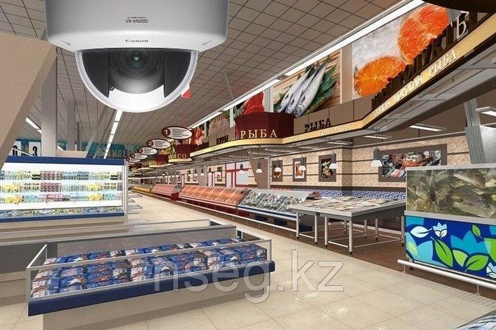 Установка систем видеонаблюдения в магазине, супермаркете, фото 2
