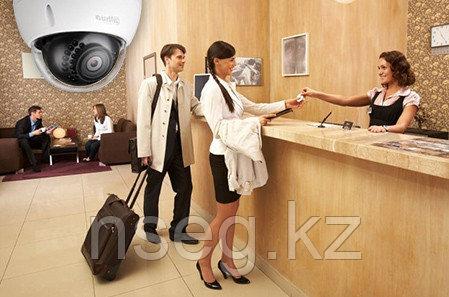 Установка системы видеонаблюдения в гостинице, отеле, хостеле