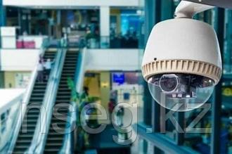 Установка системы видеонаблюдения в торговом центре
