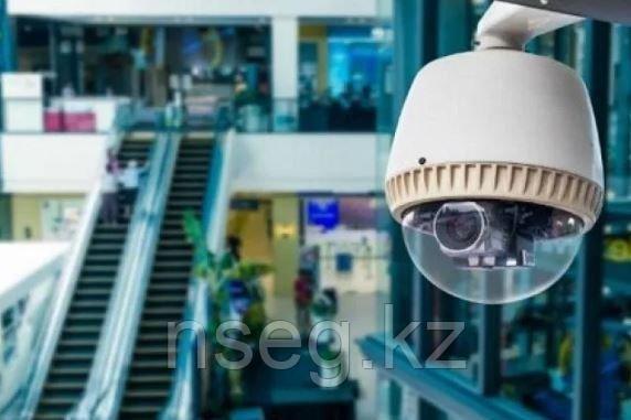 Установка системы видеонаблюдения в торговом центре, фото 2