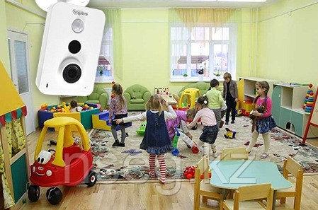 Установка видеонаблюдения в детском саду, фото 2