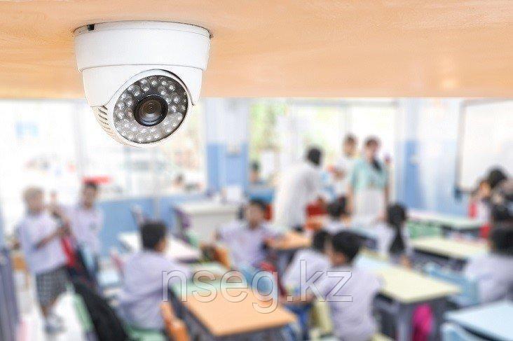 Установка видеонаблюдения в школе, колледже